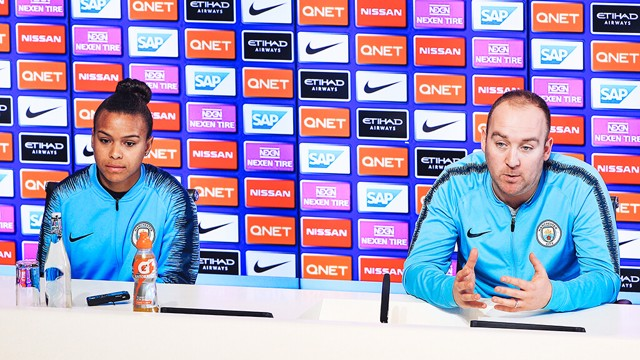 PRESS CONFERENCE: Nikita Parris and Nick Cushing speak ahead of Sunday's double header.