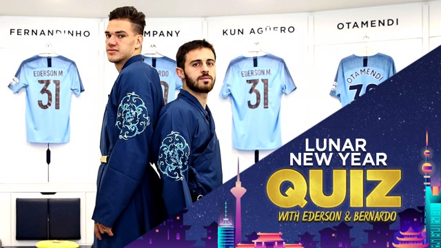 Ederson and Bernardo Silva go head-to-head in the ultimate Lunar New Year quiz!