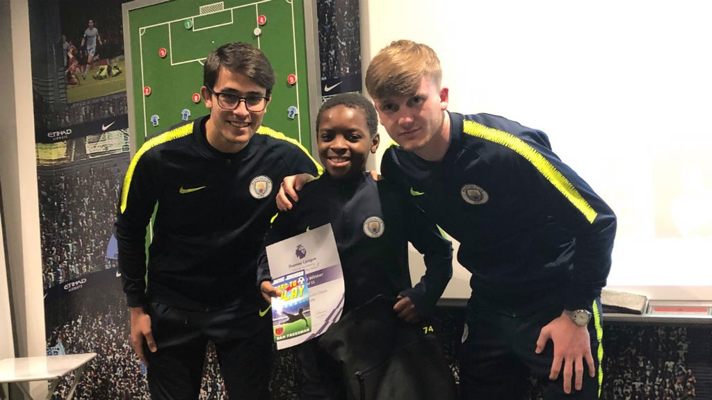 ALL SMILES: Tristan Achu was the winner in the Under-10s section