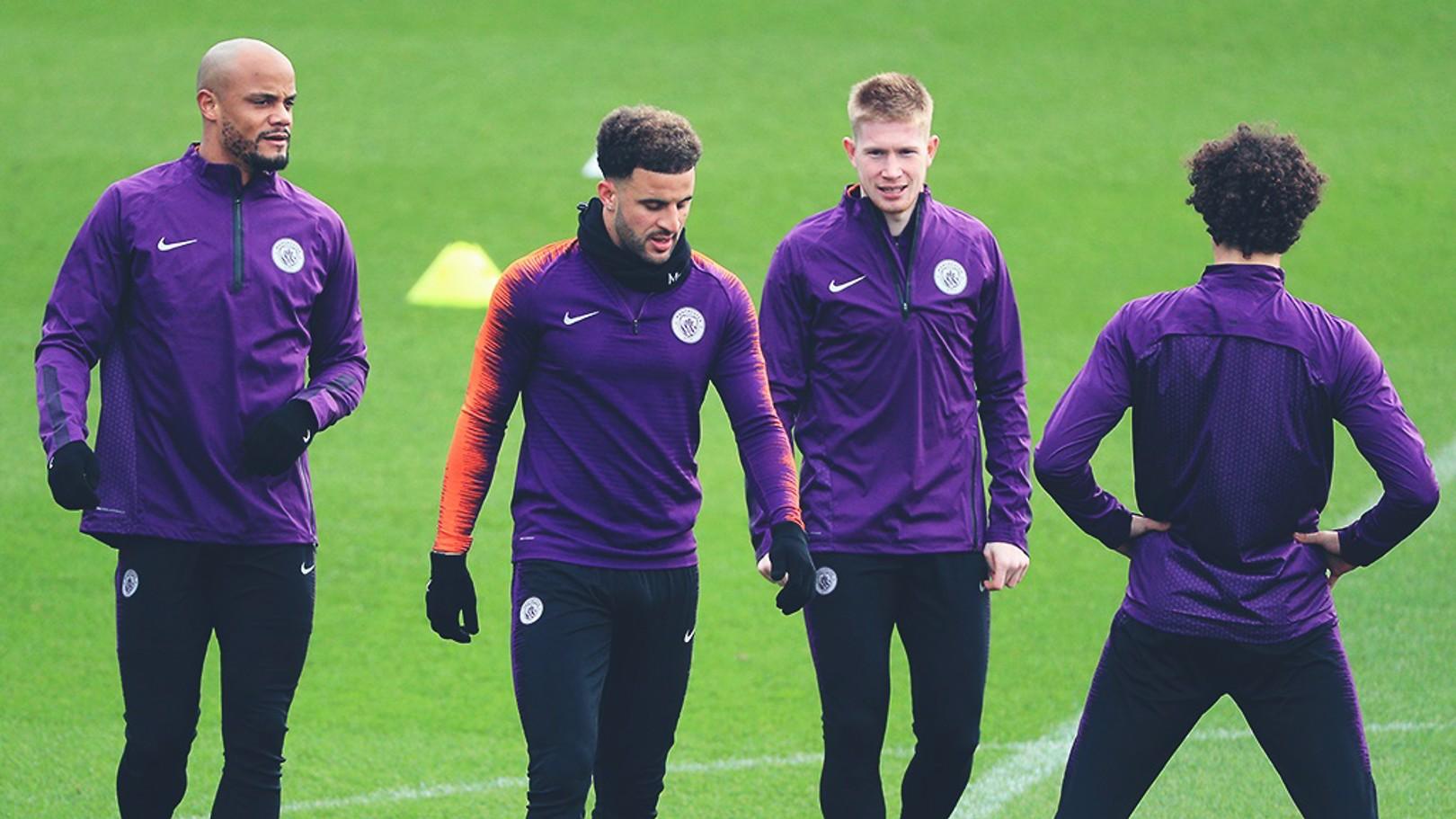 Schalke v City: Kompany travels, quartet ruled out