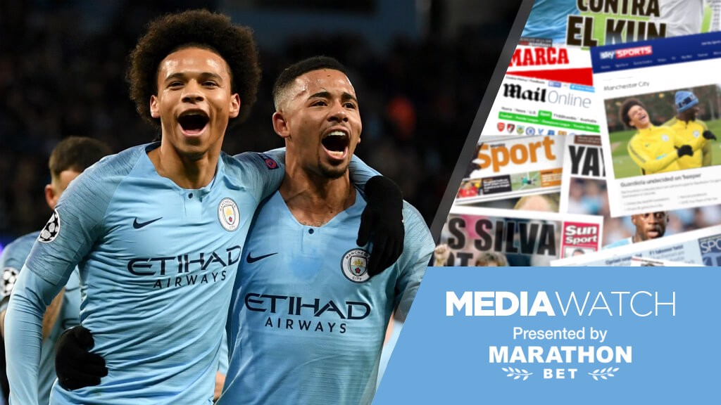 REUNION: Leroy Sane heads back to his old stomping ground, as City travel to Schalke...