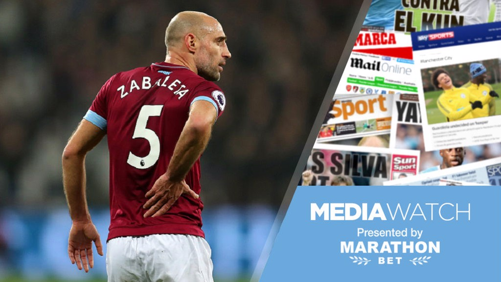 3dc85bfe8c8 Media Watch  Pablo Zabaleta wants City to be champions Manchester City FC