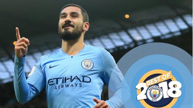 BEST OF: Ilkay Gundogan talks us through the best goals of 2018...