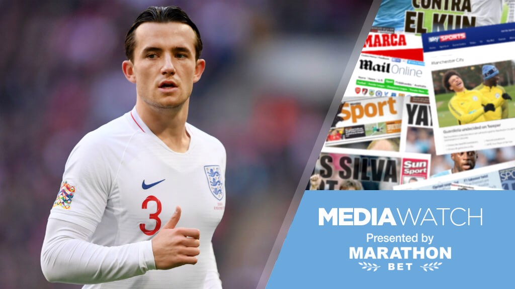 9b0489051f6 Media Watch  City to  step up  Chilwell pursuit  - Manchester City FC