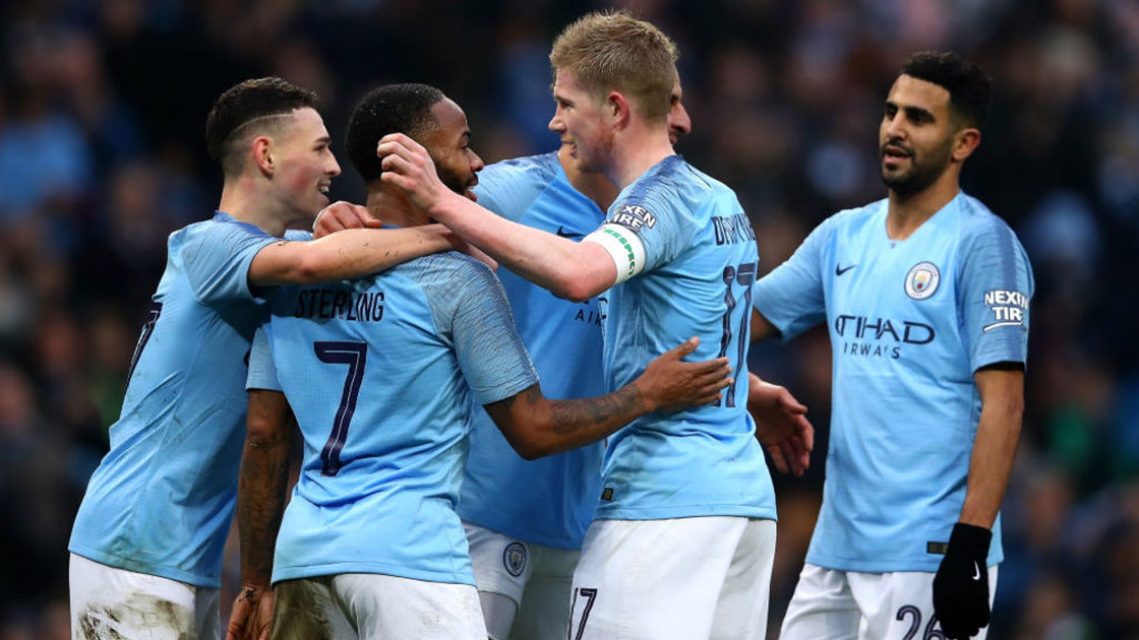 SEVEN UP: Manchester City were at our ruthless best in our FA Cup win over Rotherham