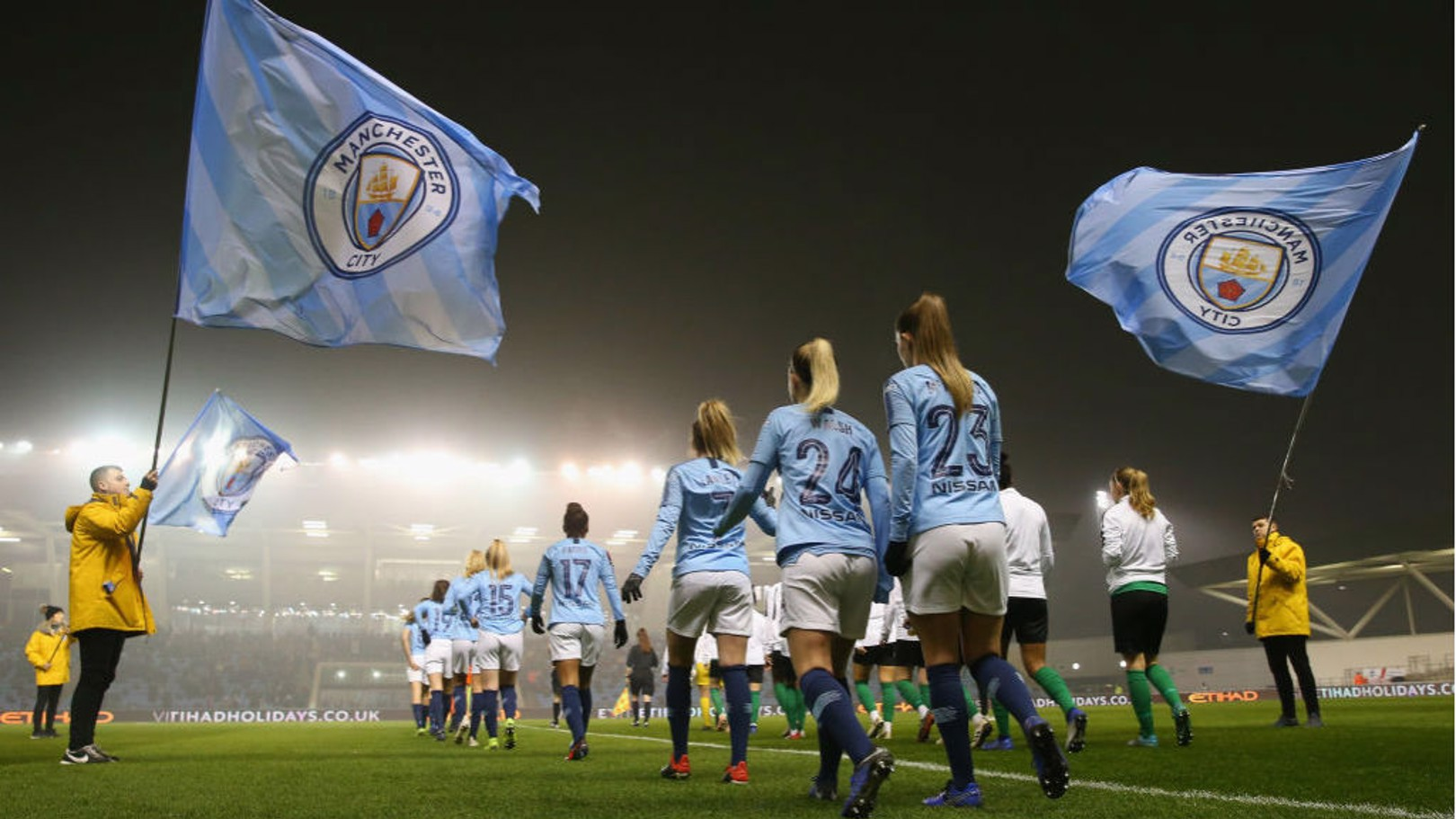 City learn Conti Cup semi-final opponents