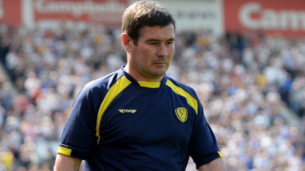 NIGEL CLOUGH:  Ready to pit wits with Pep