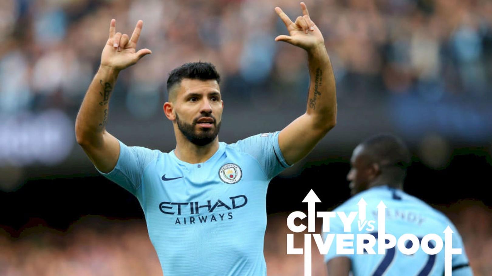 AGÜERO. Sergio persigue el pleno ante el Liverpool.