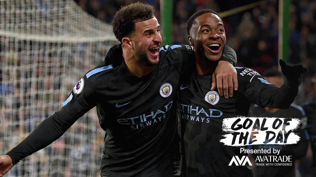 GOATD: Today's Goal of the Day is a crucial strike from Raheem Sterling