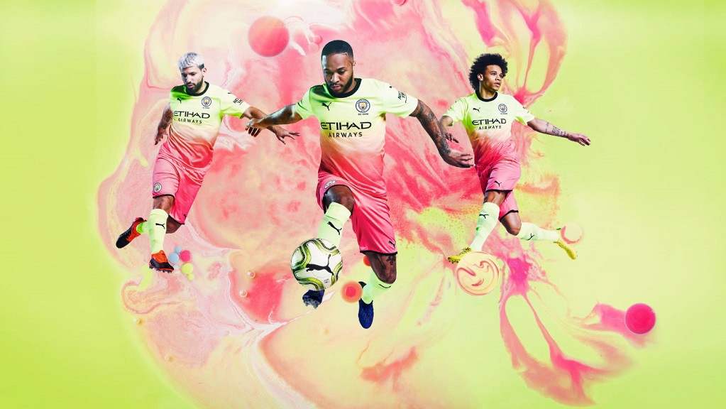 VIBRANT: City's new third kit has been launched