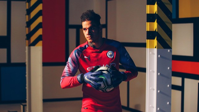 EDERSON: Colourful kit for a colourful character