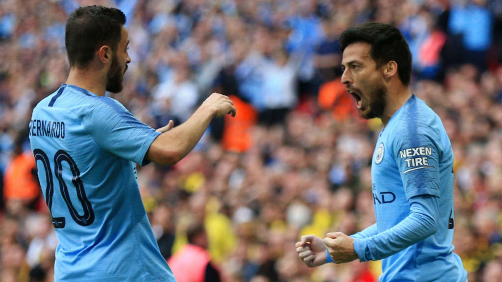 Bernardo keen to further learn from David Silva