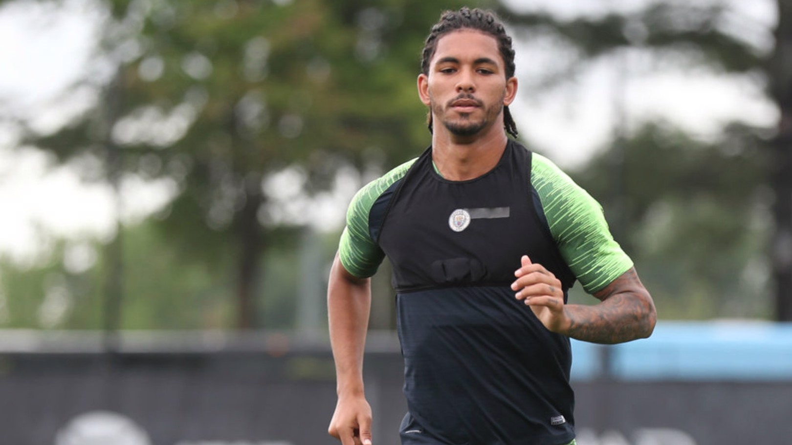 GOOD LUCK: Douglas Luiz has left Manchester City.