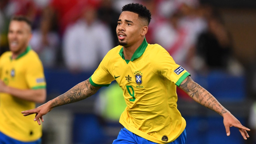 FAB GAB: Gabriel Jesus bagged a goal and an assist in the Copa America Final