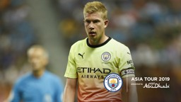 REWARDS: Kevin De Bruyne believes City are reaping the benefits of the 2019 Asia Tour
