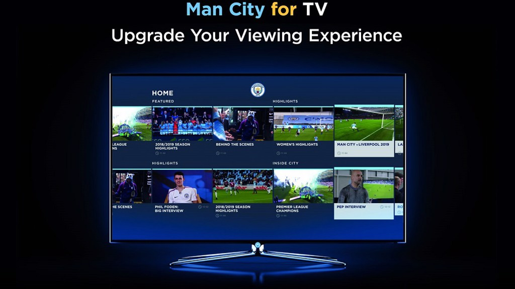 City launch OTT app - Manchester City FC