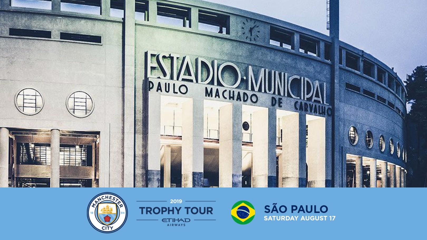 Os troféus vão chegar a São Paulo