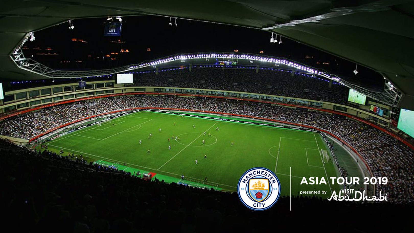 WAITING GAME: The Houngkou Stadium in Shanghai will play host to one of City's Asia 2019 Tour matches