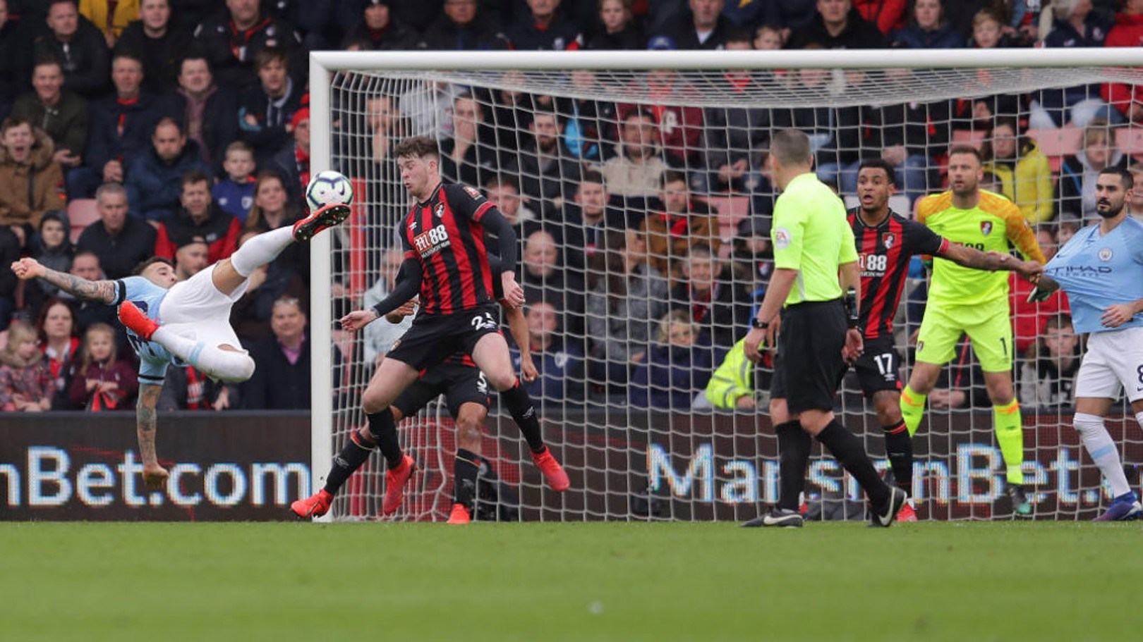 Bournemouth v City: Tickets sold out