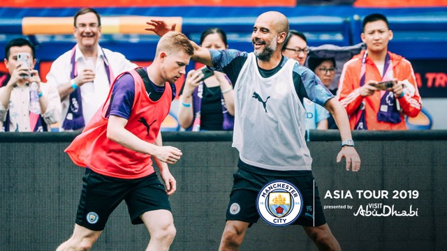 KDB: The Belgian midfielder says he is focused on being ready for the new season