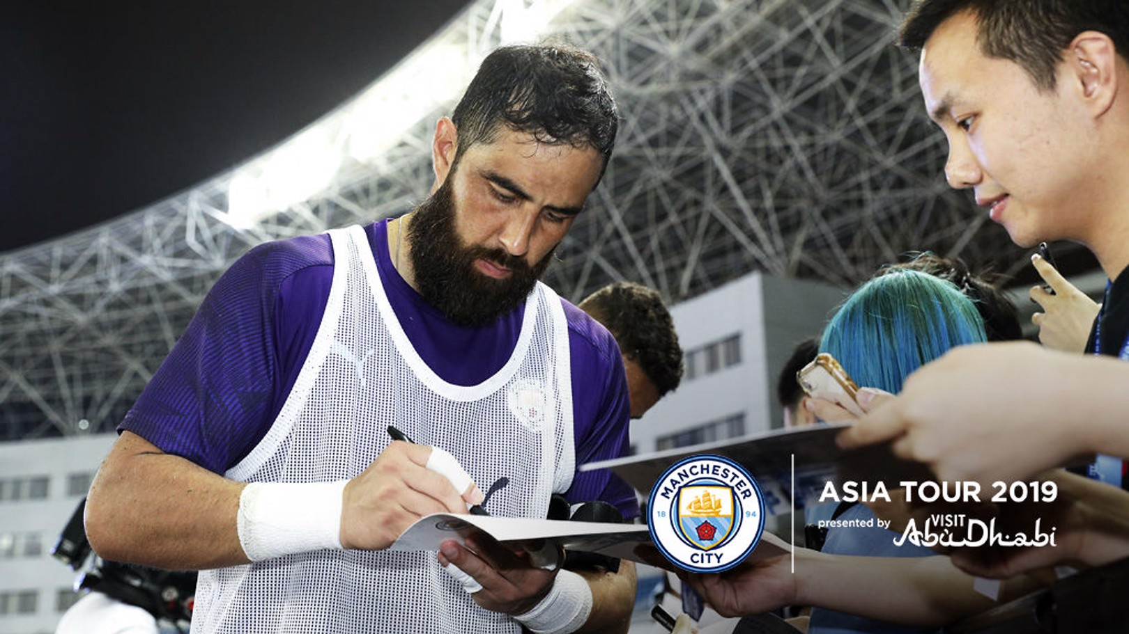 BRAVO: The City 'keeper is back to full fitness and looking to enjoy a good preseason