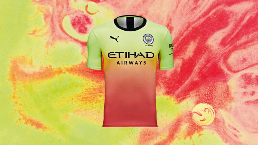 VIBRANT: City's new third kit is now available to buy