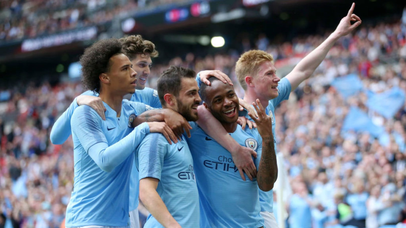 UEFA SQUAD OF THE SEASON: De Bruyne and Sterling have both been selected