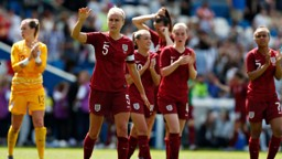 ENGLAND: Steph Houghton discusses her role as captain of the Lionesses at this summer's World Cup in France