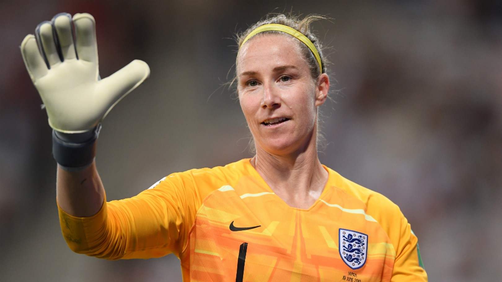 KB THE BEST: Karen Bardsley produced a superb display to preserve a clean sheet against Japan