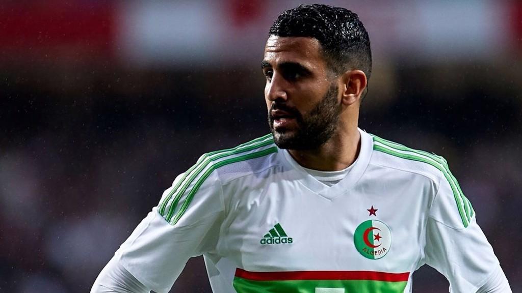 Mahrez au repos avec l'Algérie