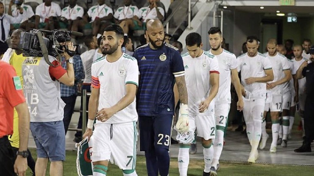 HOPES OF A NATION: Riyad is a huge star in Algeria