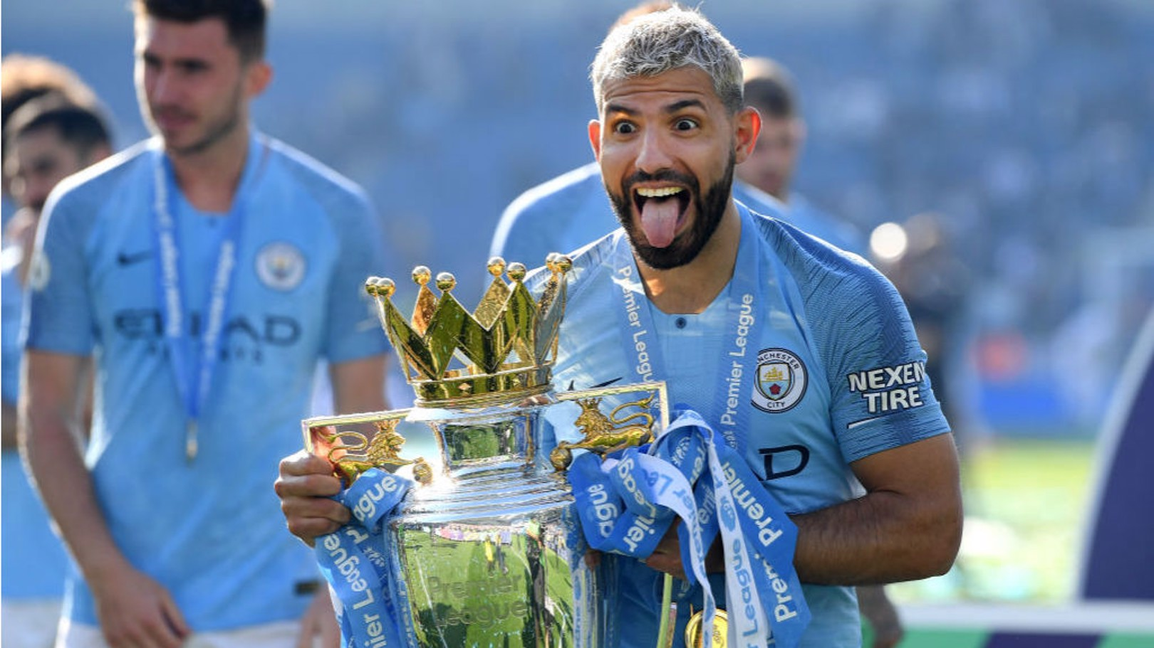 Aguero in a class of his own, says Goater