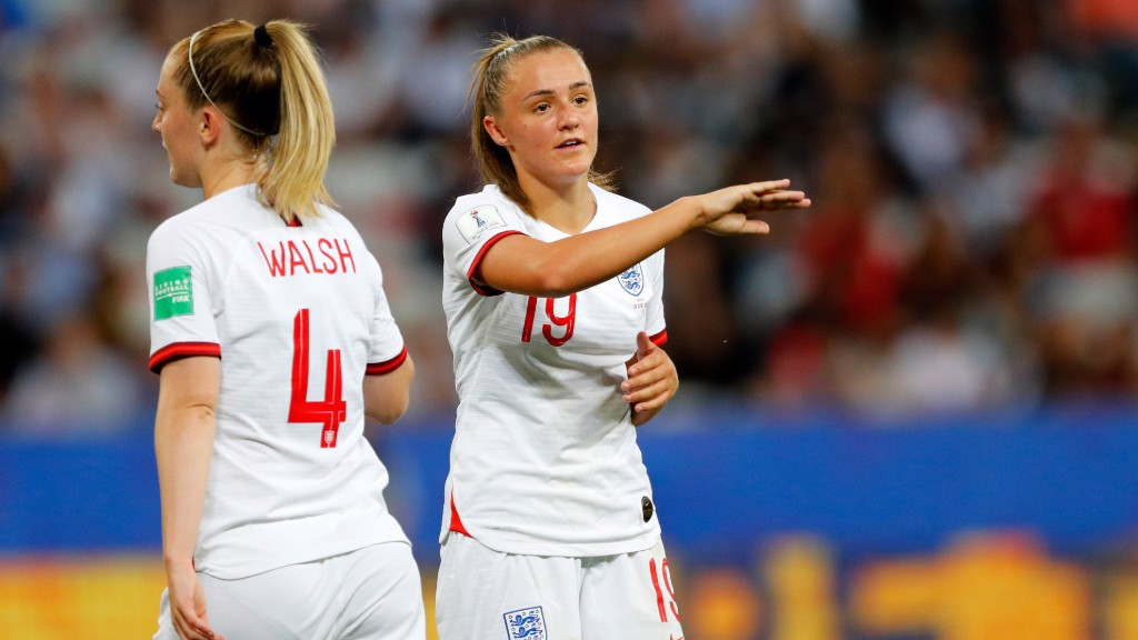 MOMENTUM: Georgia Stanway believes England's form will not have gone unnoticed at the World Cup.