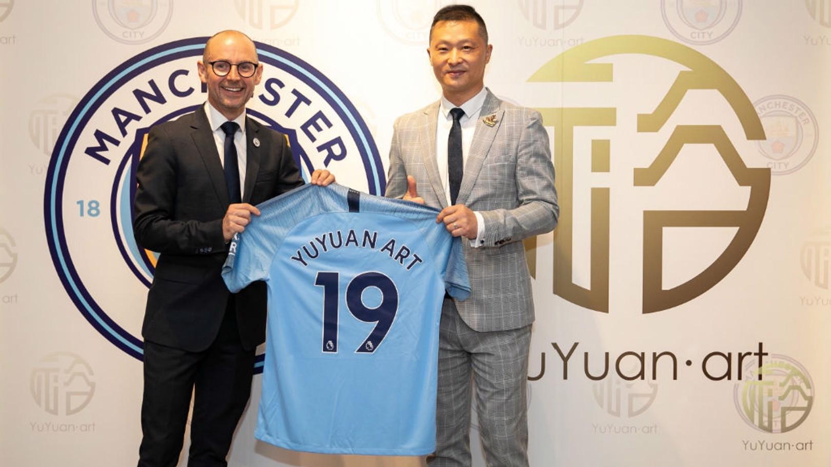 City announces YuYuan Art partnership