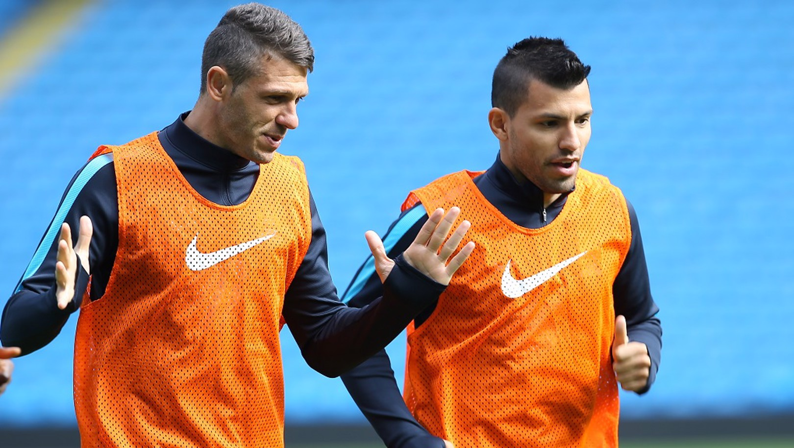 ADVICE: Martin Demichelis chats with Sergio back in 2015