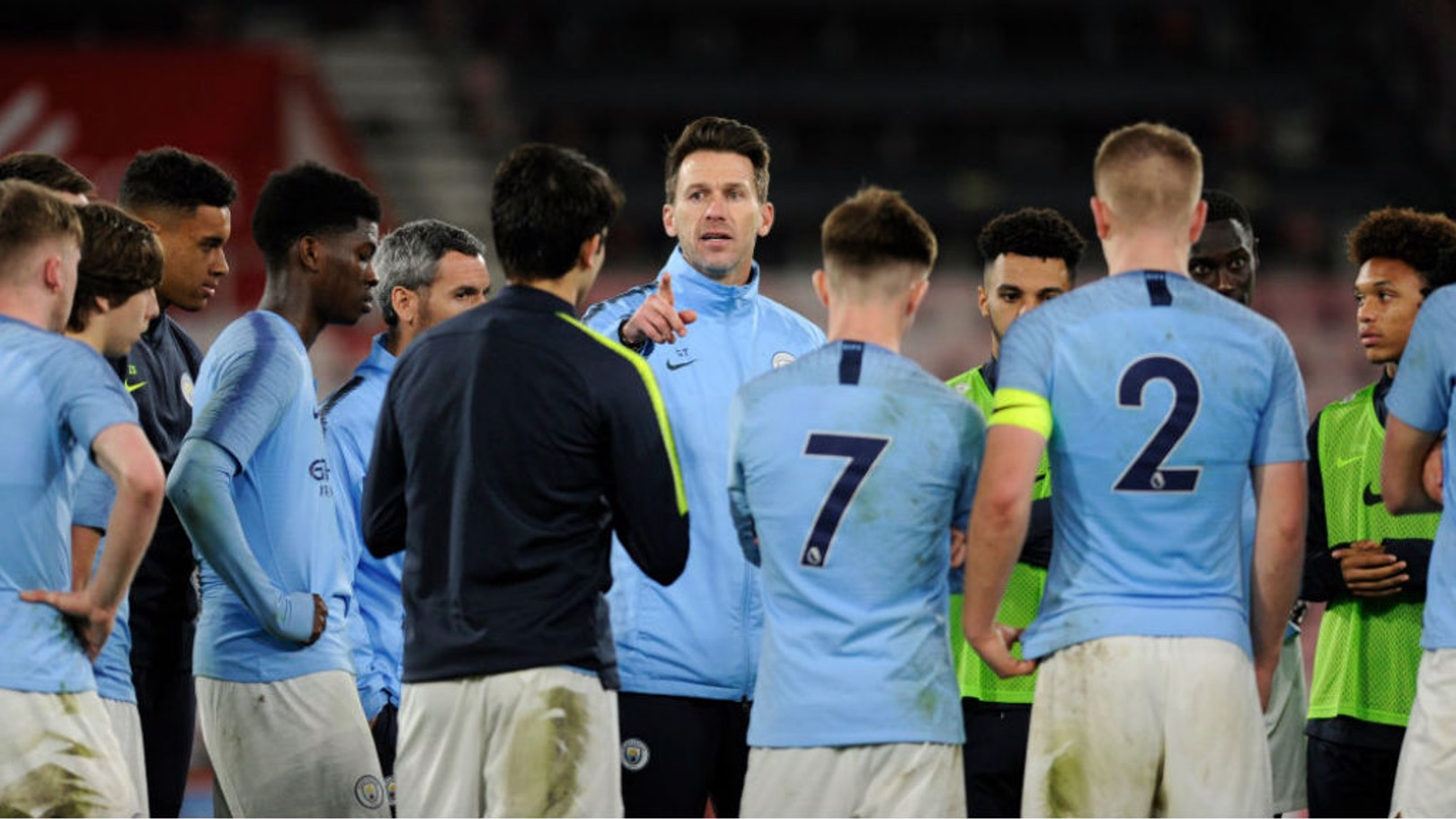 UP FOR THE CUP: Manchester City Under-18s boss Gareth Taylor says the young Blues are relishing the prospect of Monday's FA Youth Cup semi-final