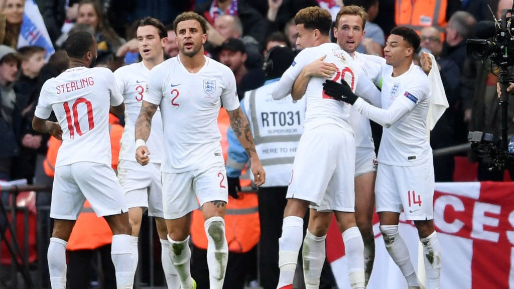 2020  The England squad for the Euro 2020 qualifiers against Czech Republic  and Montenegro has 0edfdf996