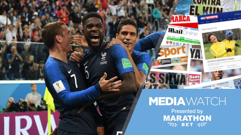 1d0a4ecae7f Media Watch  City on Umtiti alert  - Manchester City FC