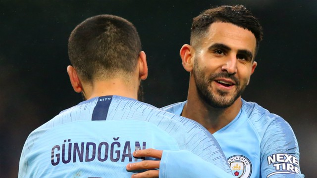 100 CLUB: Ilkay Gundogan made his 100th City appearance in the win over Bournemouth