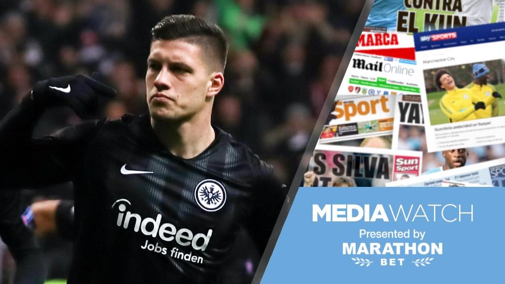 26b8d824b07 Media Watch  City eyeing Frankfurt forward  - Manchester City FC