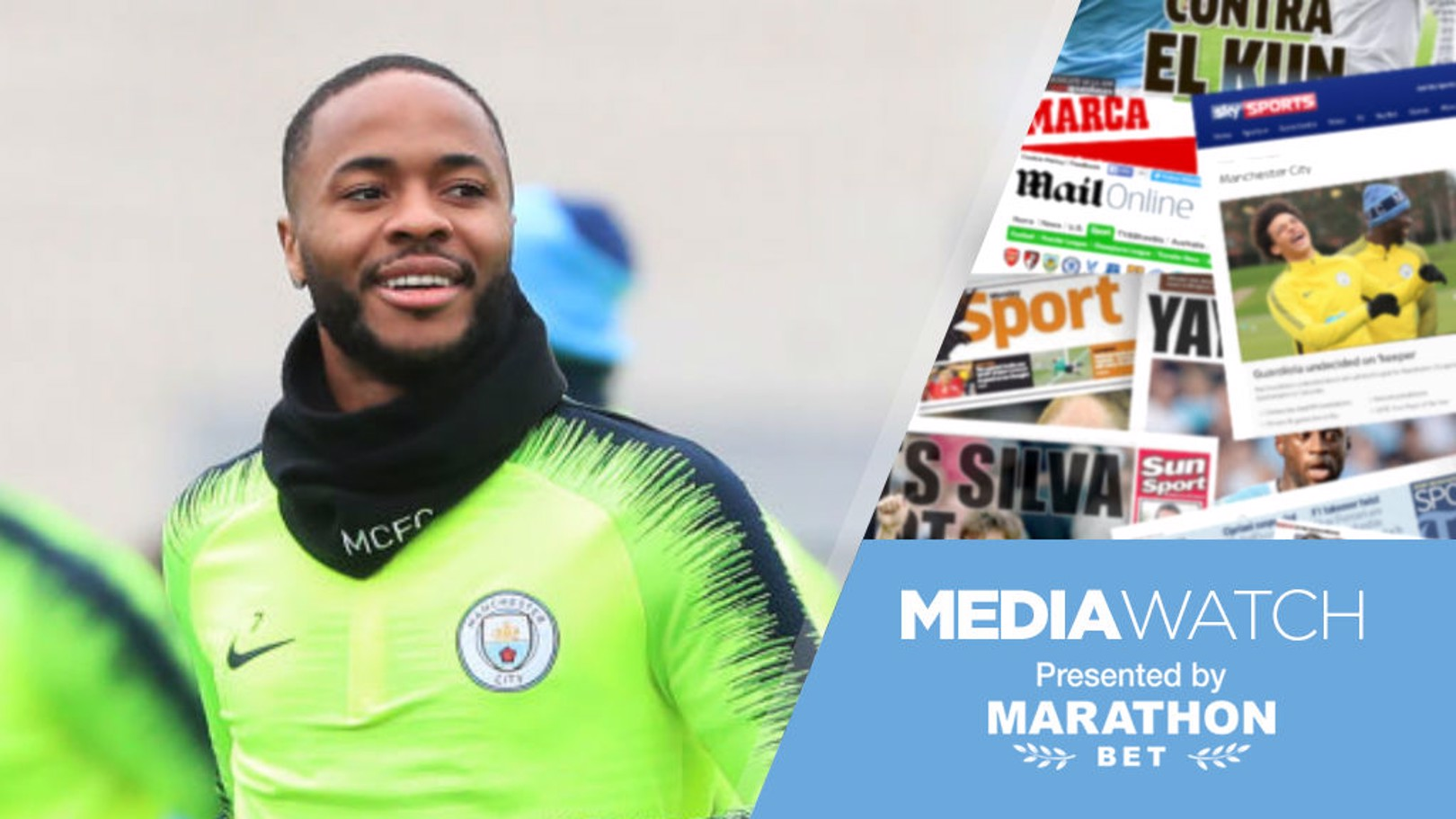 Media Watch: Sterling on his FA Cup inspiration