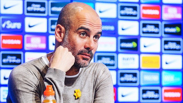 Pep speaks ahead of Watford clash.