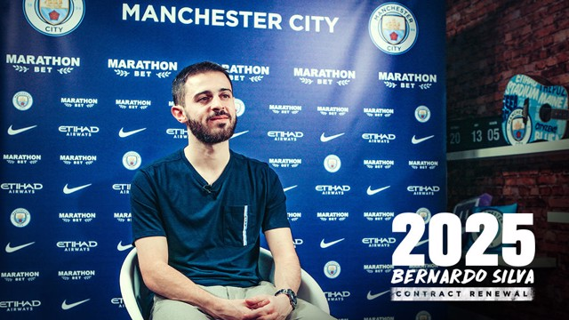 2025: Bernardo Silva has signed a new Manchester City contract