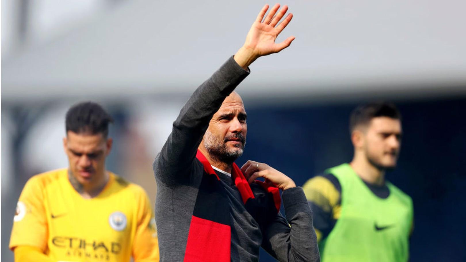 Guardiola hails City's positive mind-set