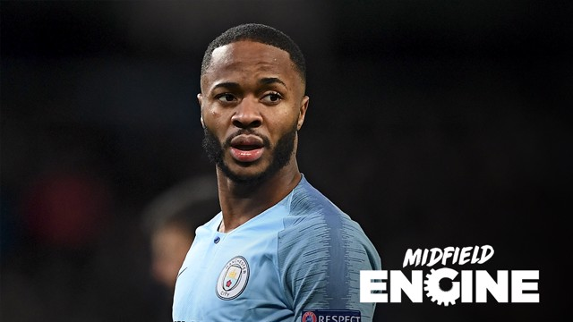 VALVOLINE MIDFIELD ENGINE: Raheem Sterling enjoyed a fine February