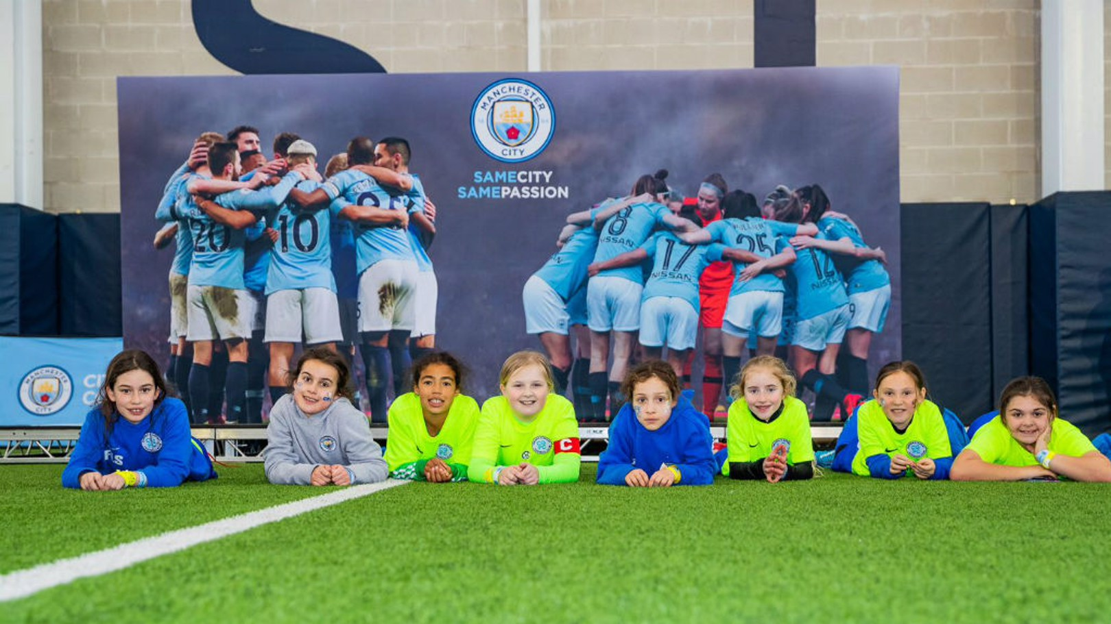 SAMEGOALS: Close to 2,000 girls, boys and parents enjoyed a day of fun and football at the #SameGoals Football Festival