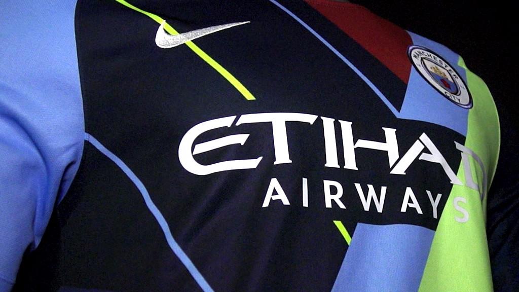 e5a899052 Mashup kit  A celebration of six seasons with Nike - Manchester City FC