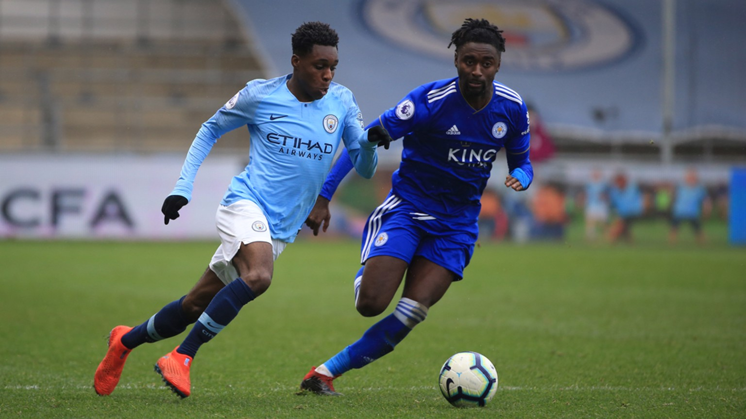 EDS: The Blues took on Leicester at the Academy Stadium