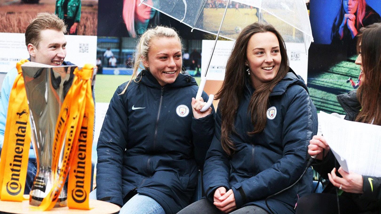 Emslie and Weir hail International Women's Day