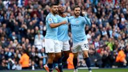 NOMINEES: Sergio Aguero, Bernardo Silva and Raheem Sterling are shortlisted for Premier League Player of the Season.